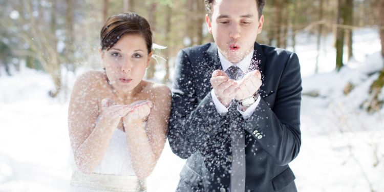 Winterliche Hochzeitsinspirationen beim Styled Shooting in Tirol
