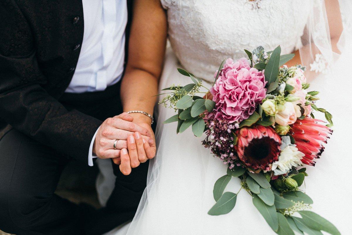 Die kirchliche Hochzeit von Stefanie und Andre – mit Sandra Hützen