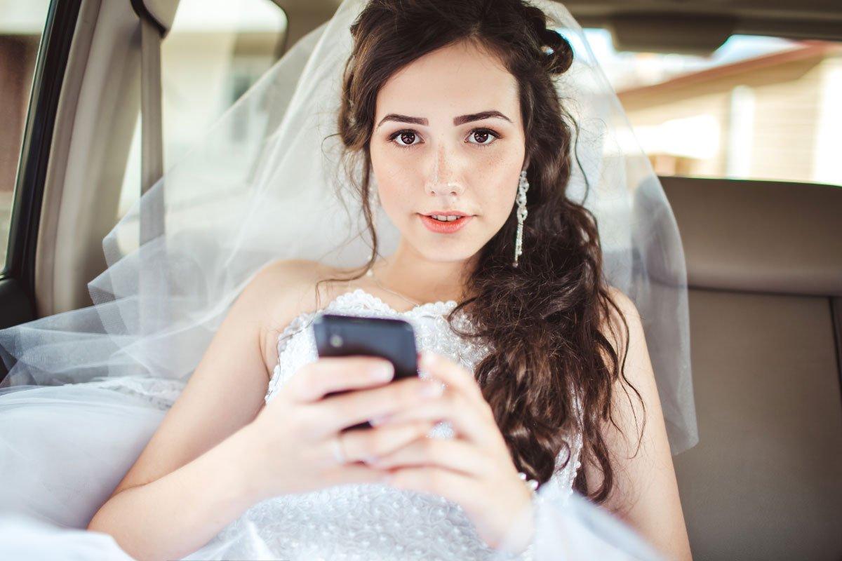 Dies alles benötigt eine Braut am Tag der Hochzeit