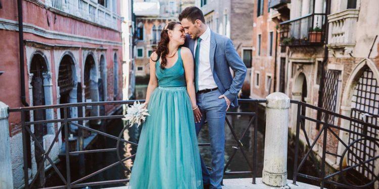 Das Verlobungs-Fotoshooting in Venedig von Franziska & Janes