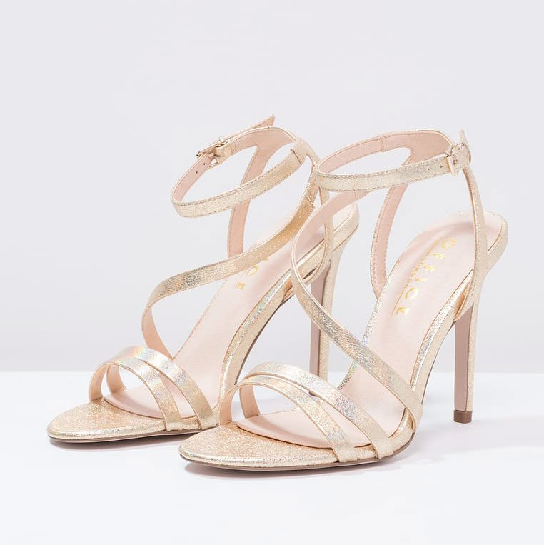 Office - SABINE - Riemensandalette in gold