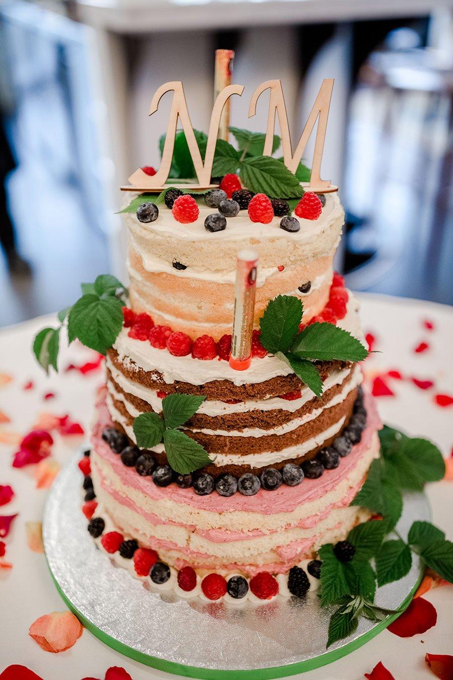 Torten Fur Die Hochzeit Ohne Fondant Und Marzipan
