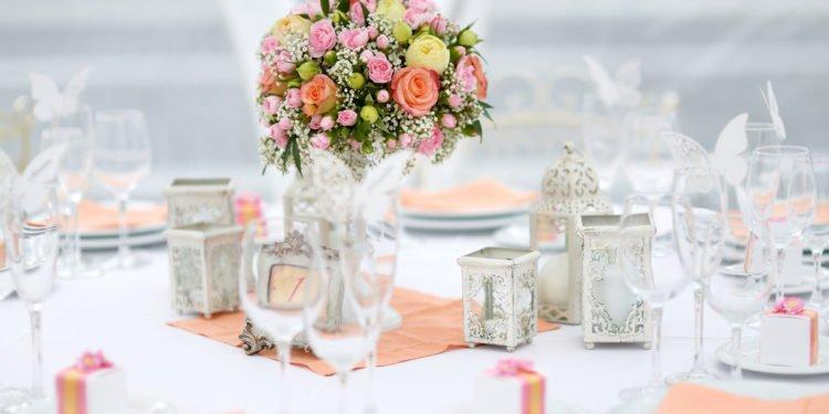 20 wunderschöne Ideen für die Tisch-Dekoration bei der Hochzeit