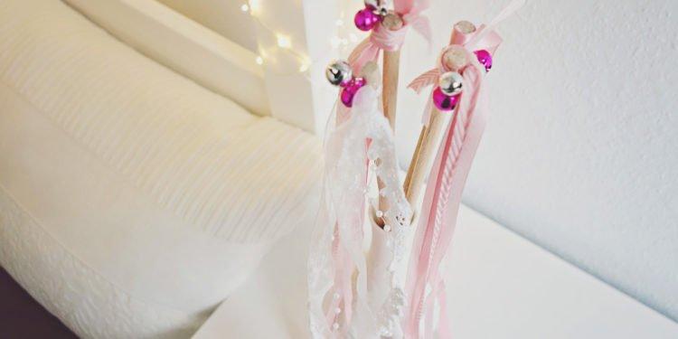DIY Hochzeitsstäbe: So einfach lassen sie sich basteln!