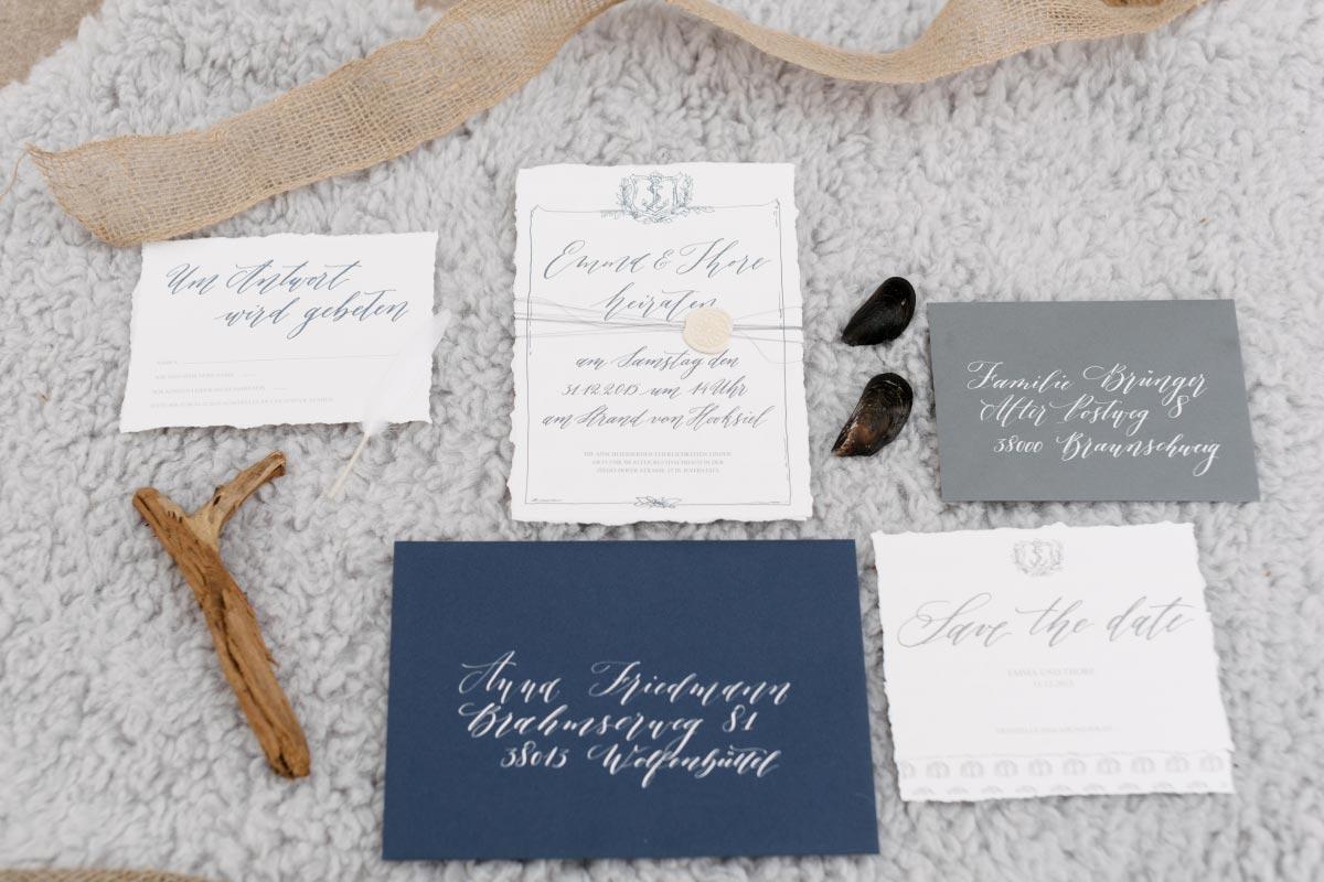Die 10 besten Anbieter für Hochzeitskarten