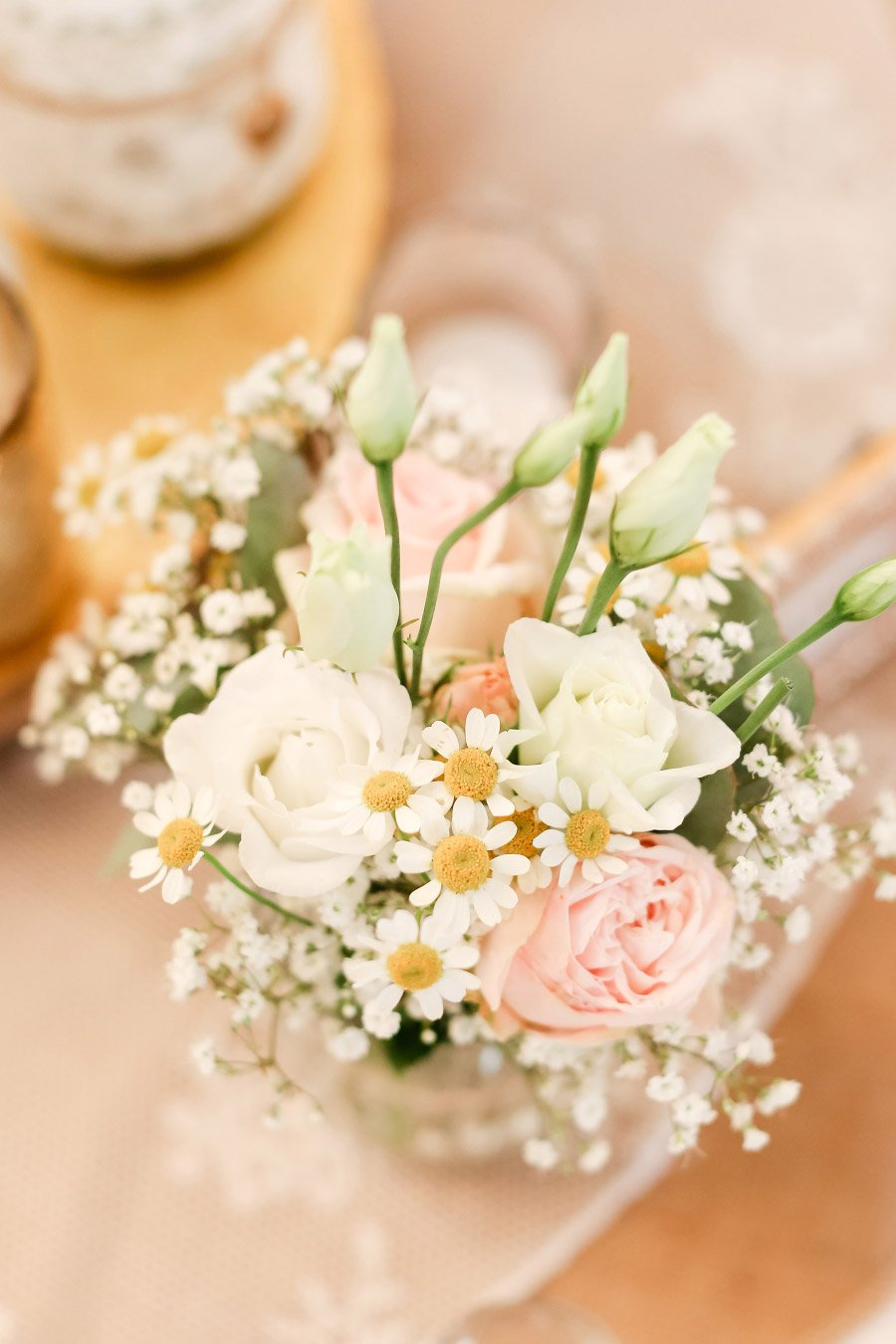 Blumen bei der Hochzeit