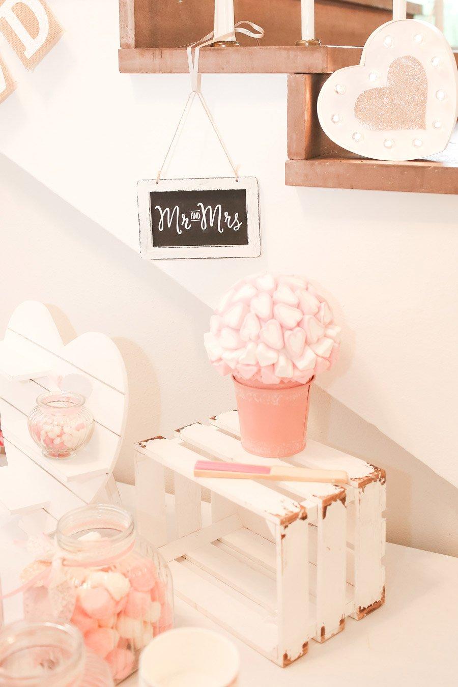 Sweet Table bei der Hochzeit