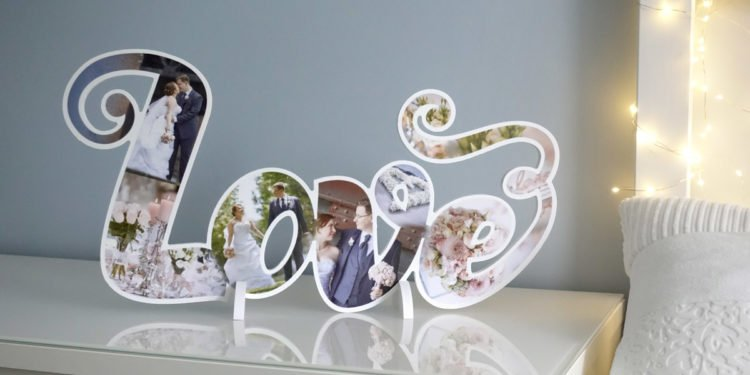 Personalisierte Love Deko-Buchstaben für eure Hochzeit