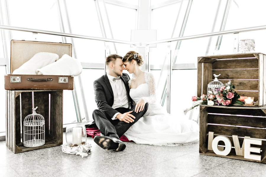 Standesamtliche Hochzeit auf dem Brocken in 1.141 Meter Höhe