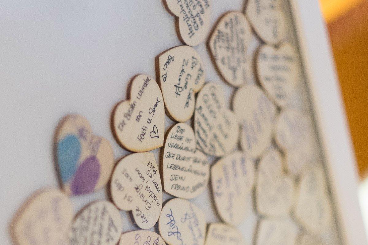 Außergewöhnliche Gästebücher zur Hochzeit: So könnten sie aussehen