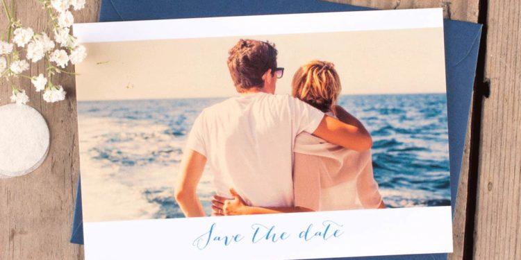Erstklassige Save-the-Date Karten zur Hochzeit von Rosemood