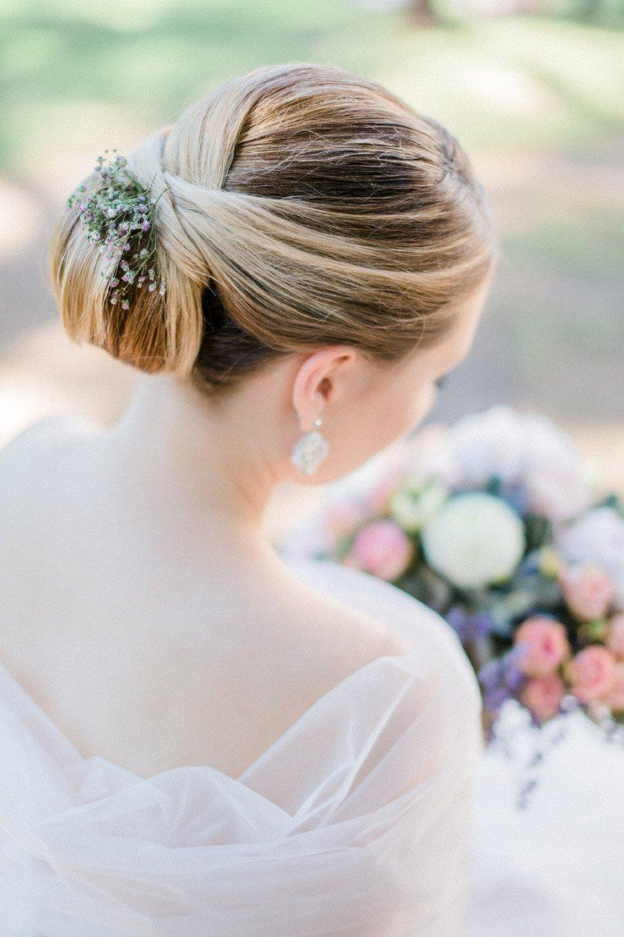 Frisur der Braut