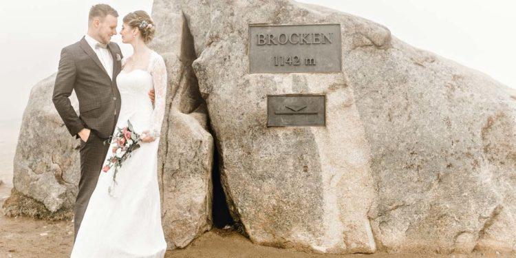Hochzeit auf dem Brocken in 1.141 Meter Höhe