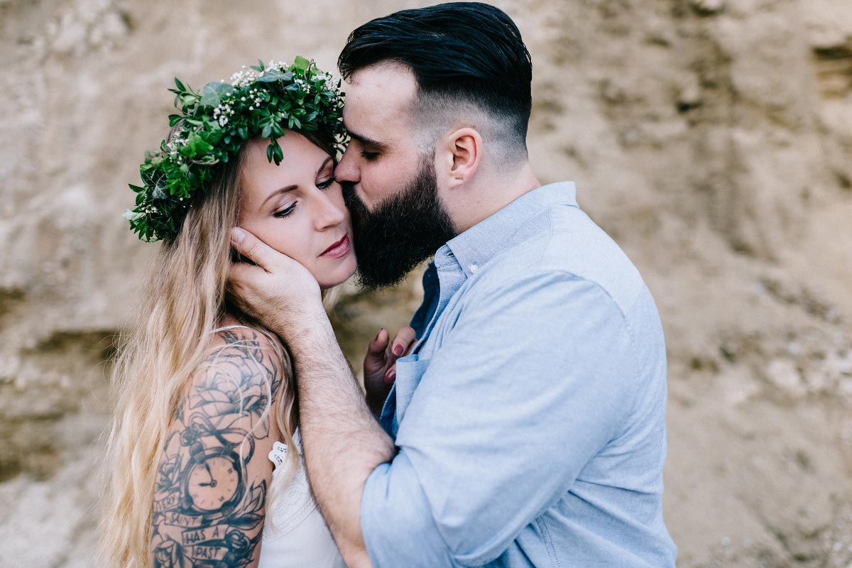 Engagement Shooting im Boho Vintage Style