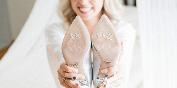 Schuhsticker für die Hochzeit Eyecatcher für die Schuhe