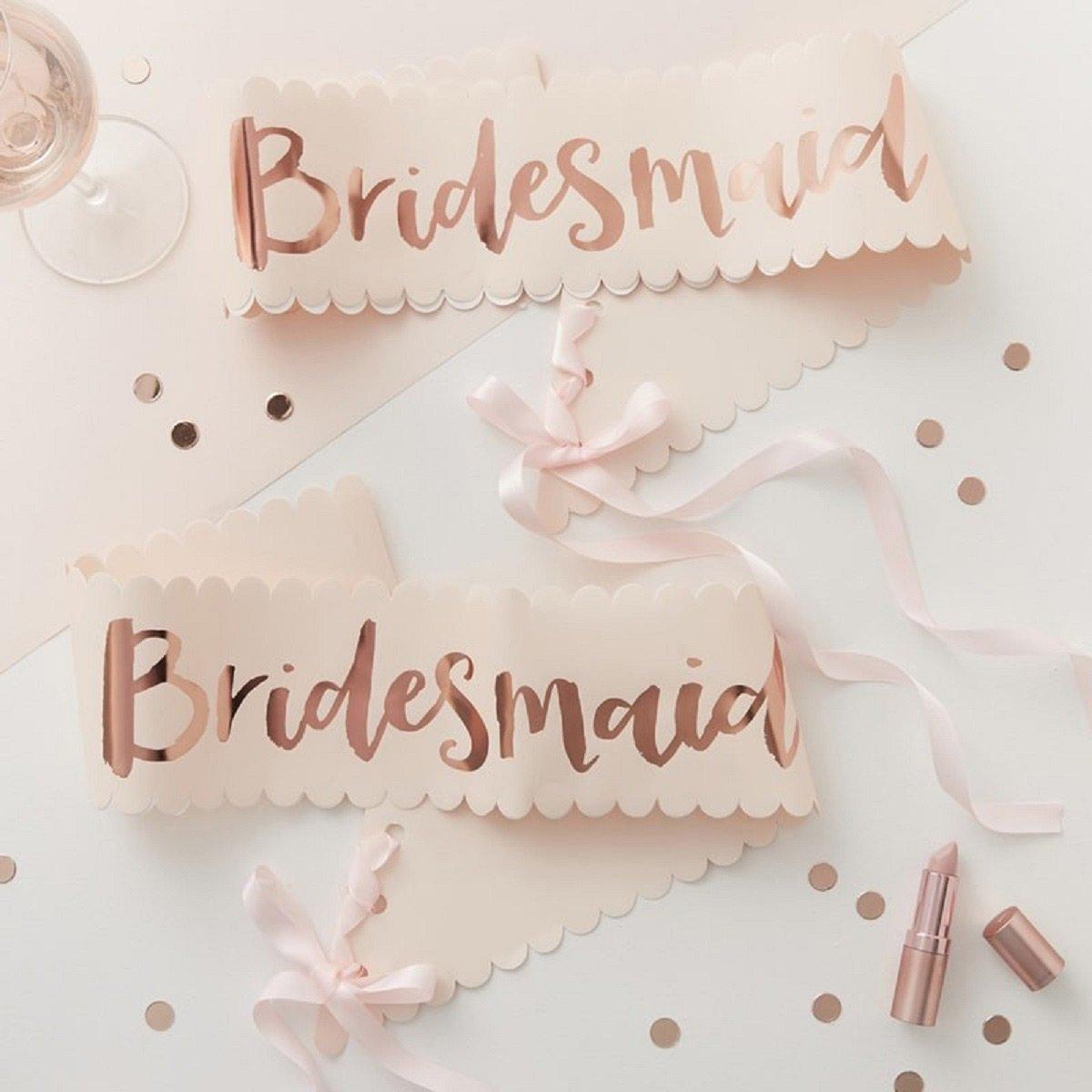 Bridesmaid Schärpe: Die perfekten Accessoires für euren Junggesellinnenabschied / JGA