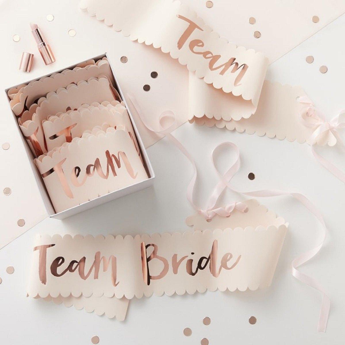 Team Bride Schärpe: Die perfekten Accessoires für euren Junggesellinnenabschied / JGA