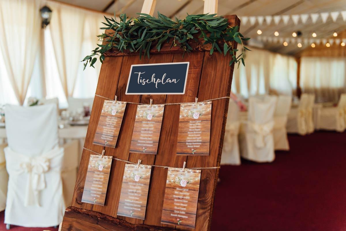 Macht es Sinn einen Tischplan zur Hochzeit zu erstellen?