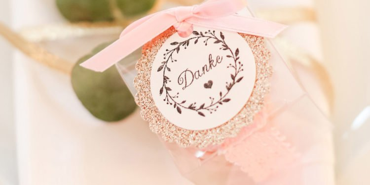Verpackungen für Gastgeschenke zur Hochzeit: Ideen & Beispiele
