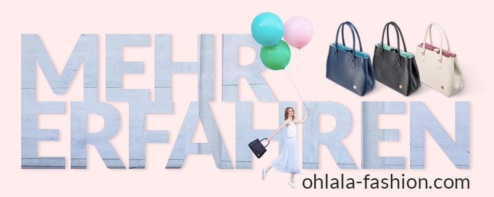 Der perfekte Begleiter für den Tag der Hochzeit: Eine Clutch von OH!lala - Mehr erfahren