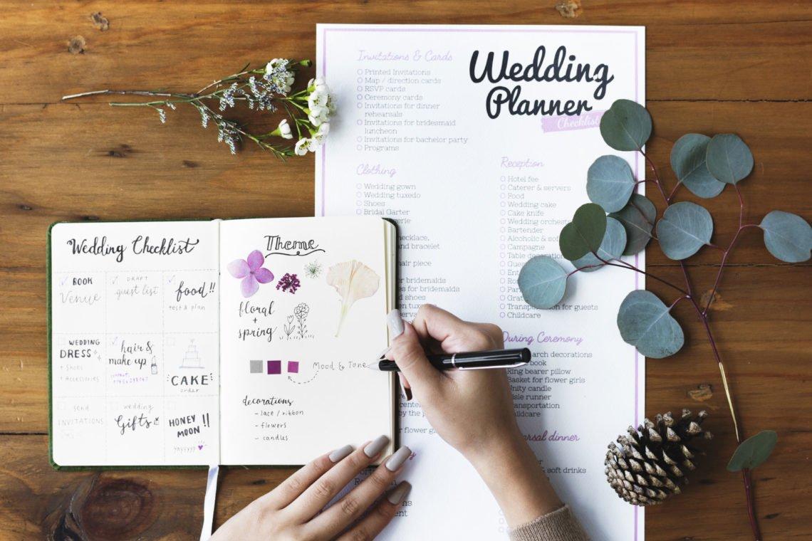 Checklisten Fur Die Planung Eurer Hochzeit Damit Ihr Nichts Vergesst
