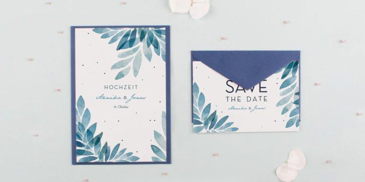Frische Designs für eure Hochzeitseinladungen von Rosemood