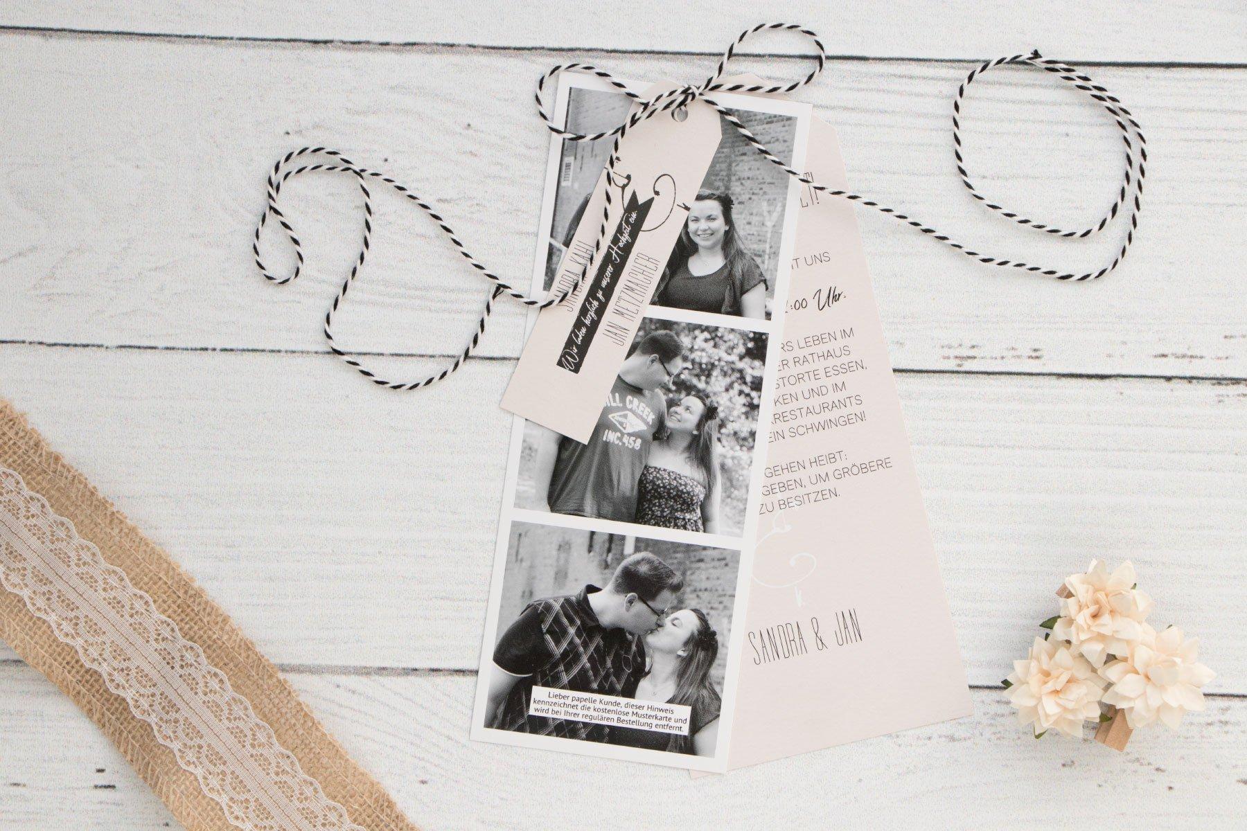 Erfahrungsbericht Papelle Hochzeitseinladungen Mehr