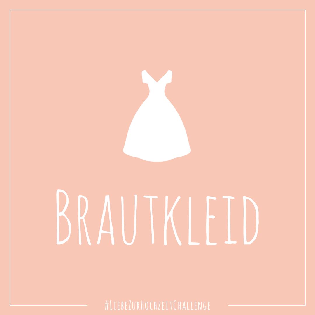 Liebe zur Hochzeit Instagram Challenge: Brautkleid