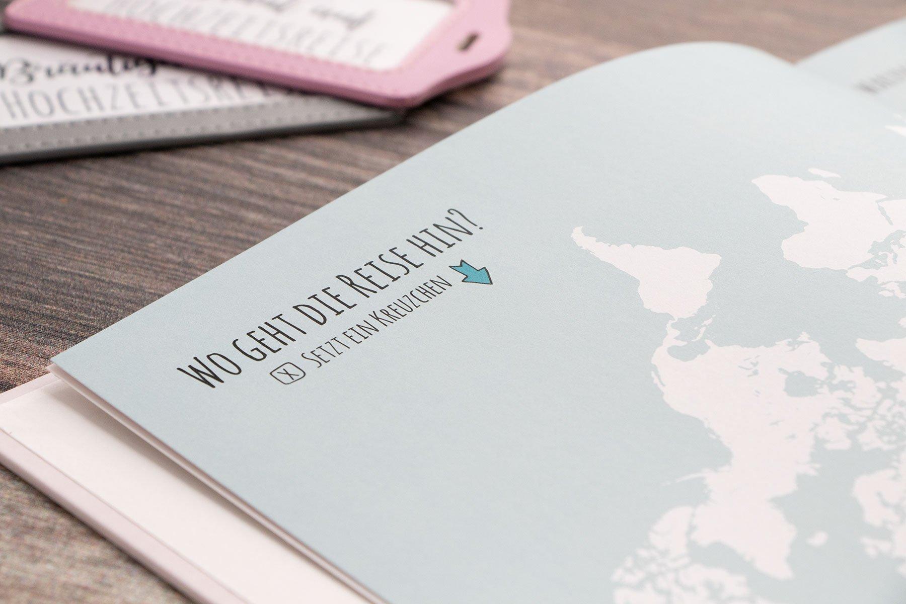 Tagebuch für die Flitterwochen – Alle Erinnerungen in einem Buch