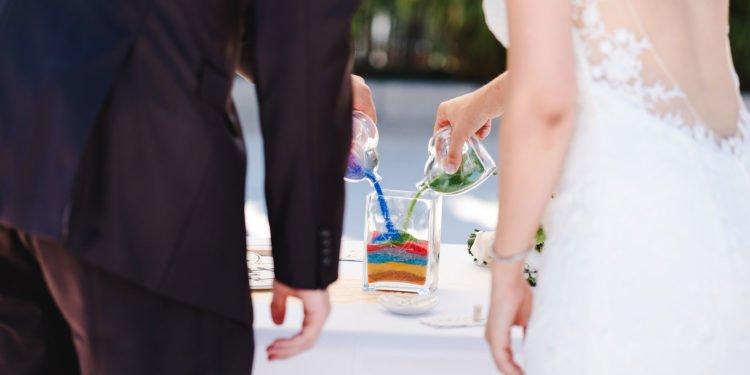 Gefäße für die Sandzeremonie bei der Hochzeit: Unsere Übersicht
