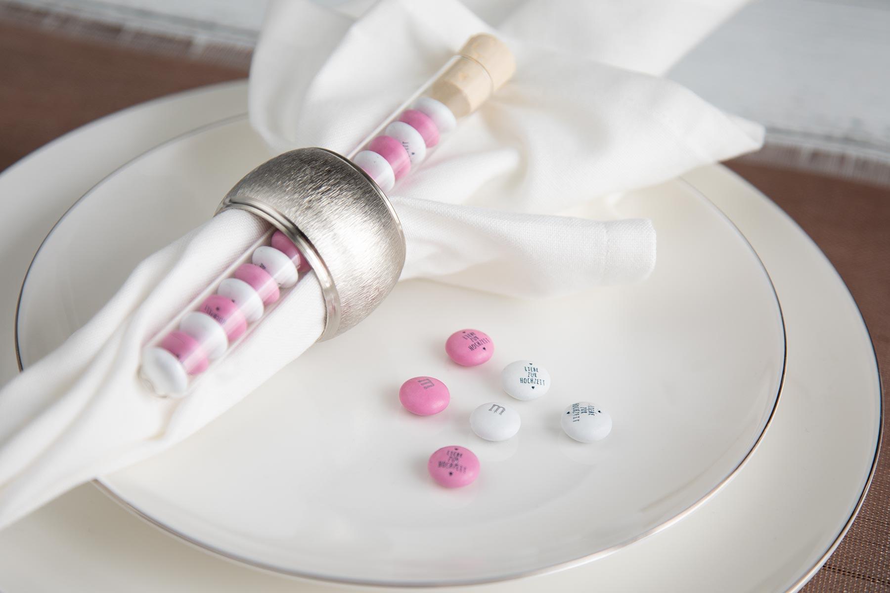 My Mms Im Reagenzglas Als Personalisiertes Gastgeschenk Zur Hochzeit