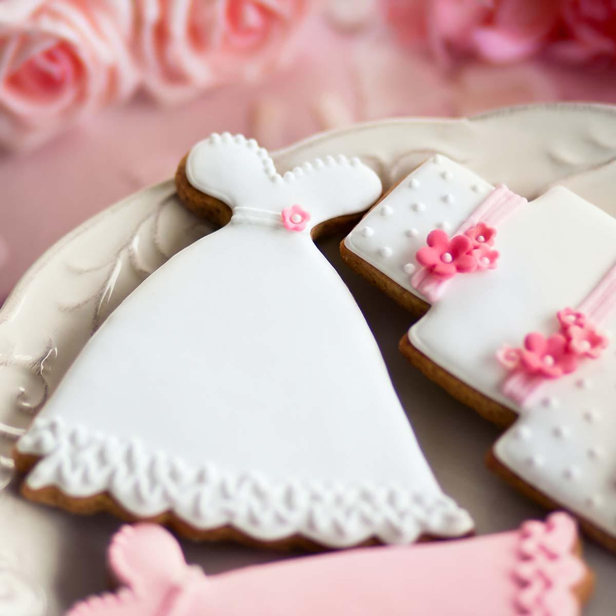 Beispiele für Hochzeitskekse: So einfach sind sie gemacht und so schön sehen sie aus!