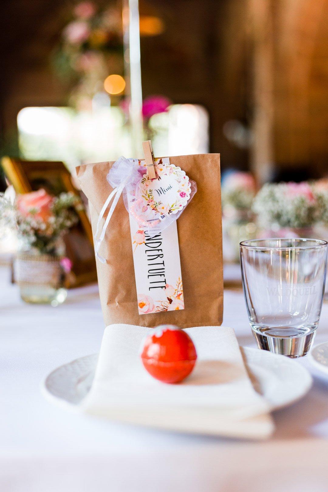 Wundertüte für Kinder bei der Hochzeit