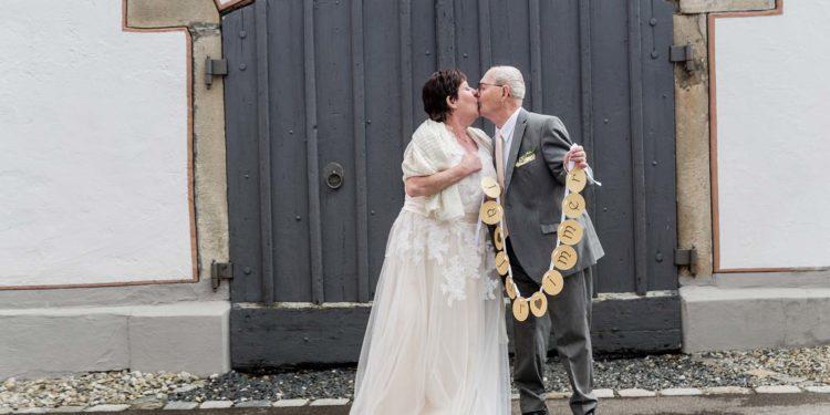 Goldene Hochzeit: After-Wedding-Fotoshooting zum 50. Hochzeitstag
