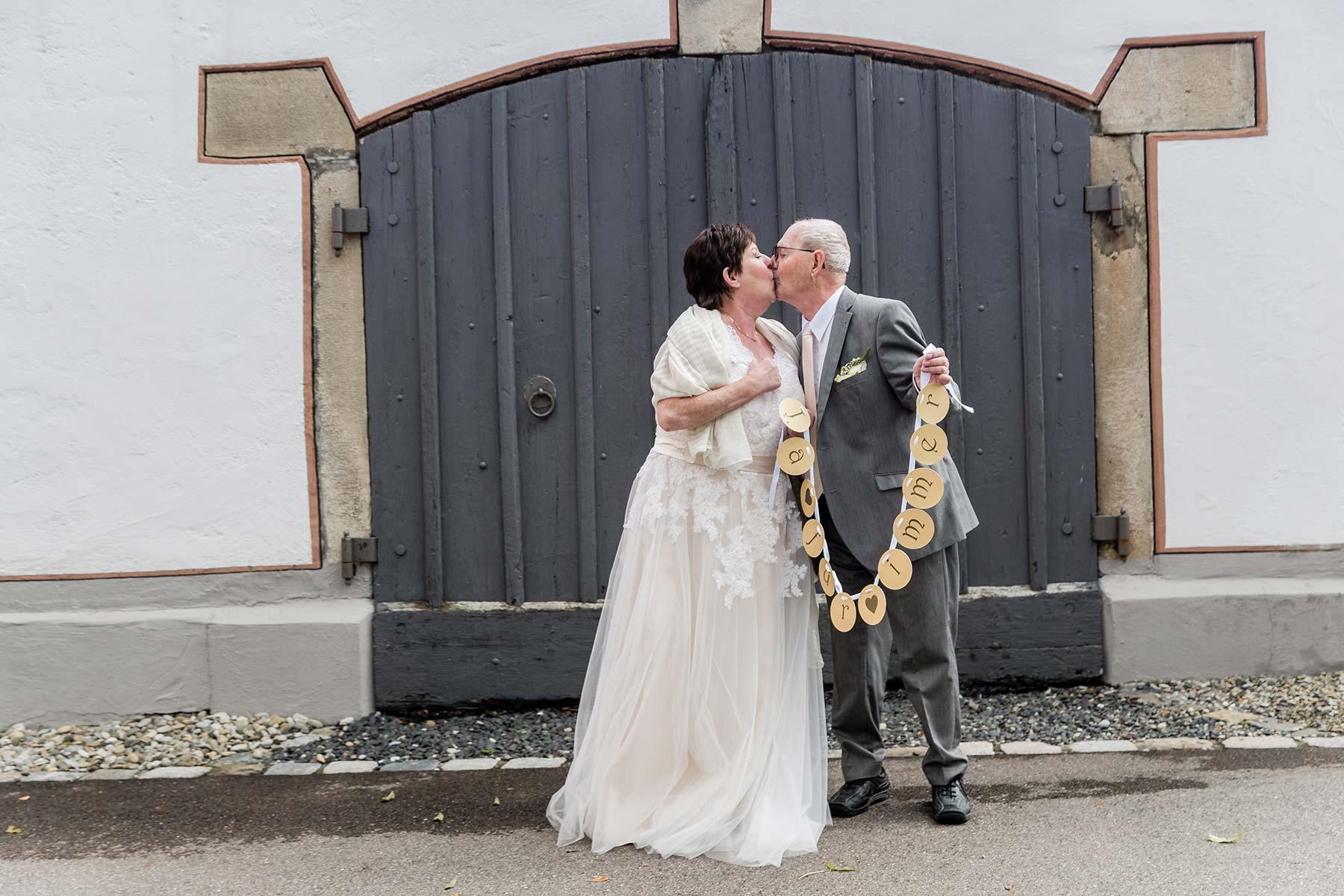 goldene hochzeit: after-wedding-fotoshooting zum 50