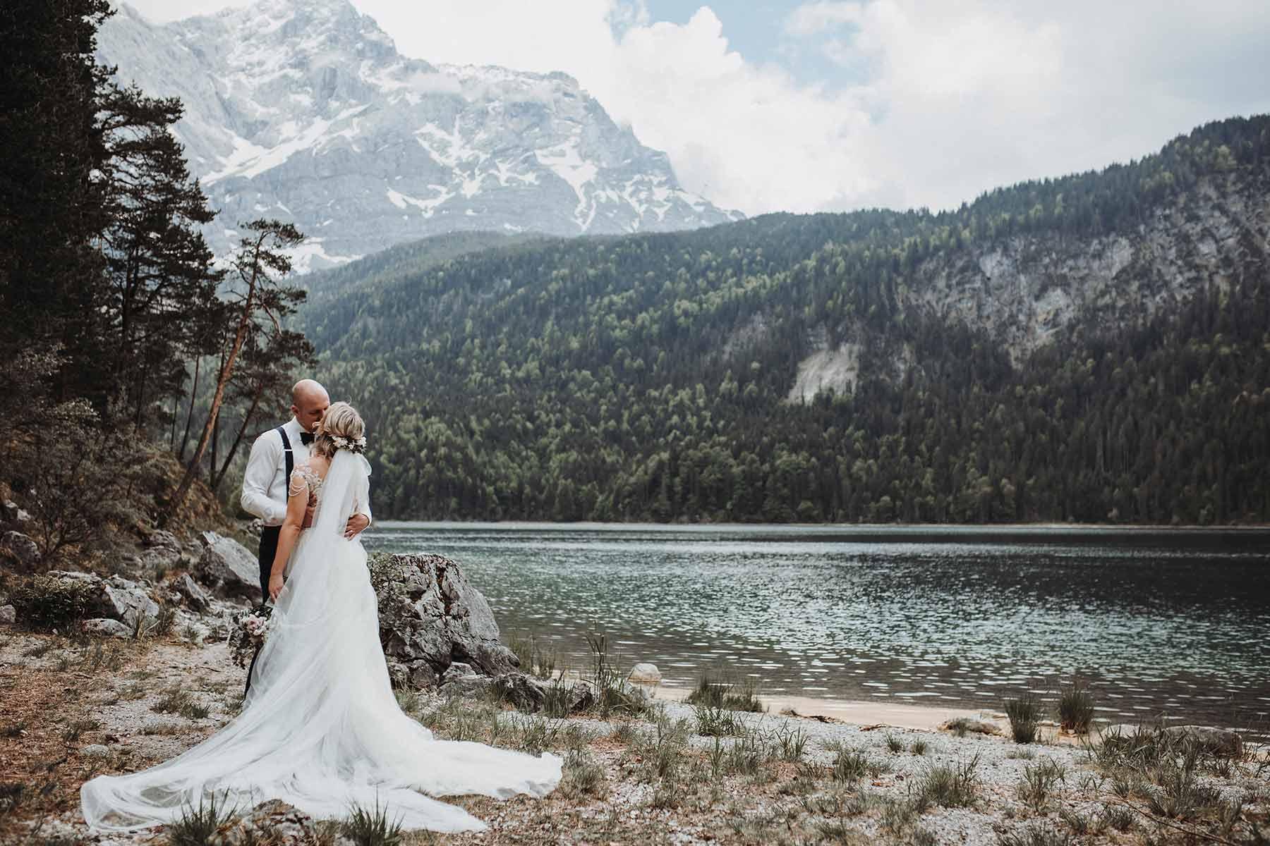 Hochzeit Zu Zweit Auf Der Alm Huberspitz Hochzeitsblog The