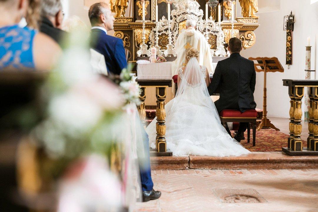 Kirchliche Trauung in der St. Maria Herrenchiemsee
