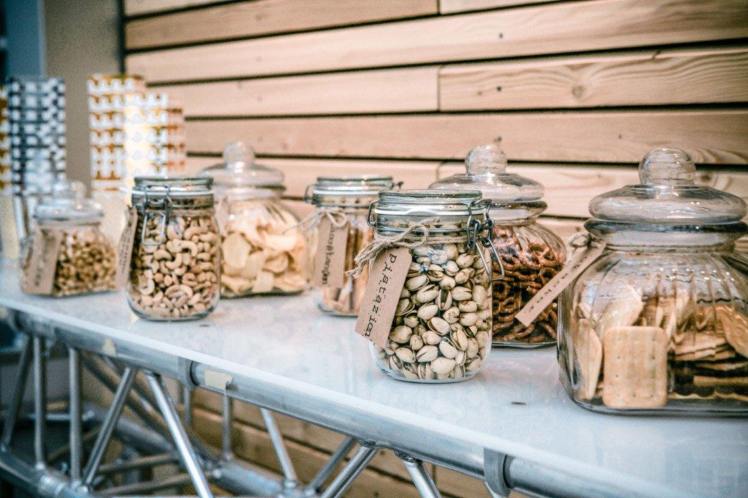 Salty and Nuts Bar bei der Hochzeit