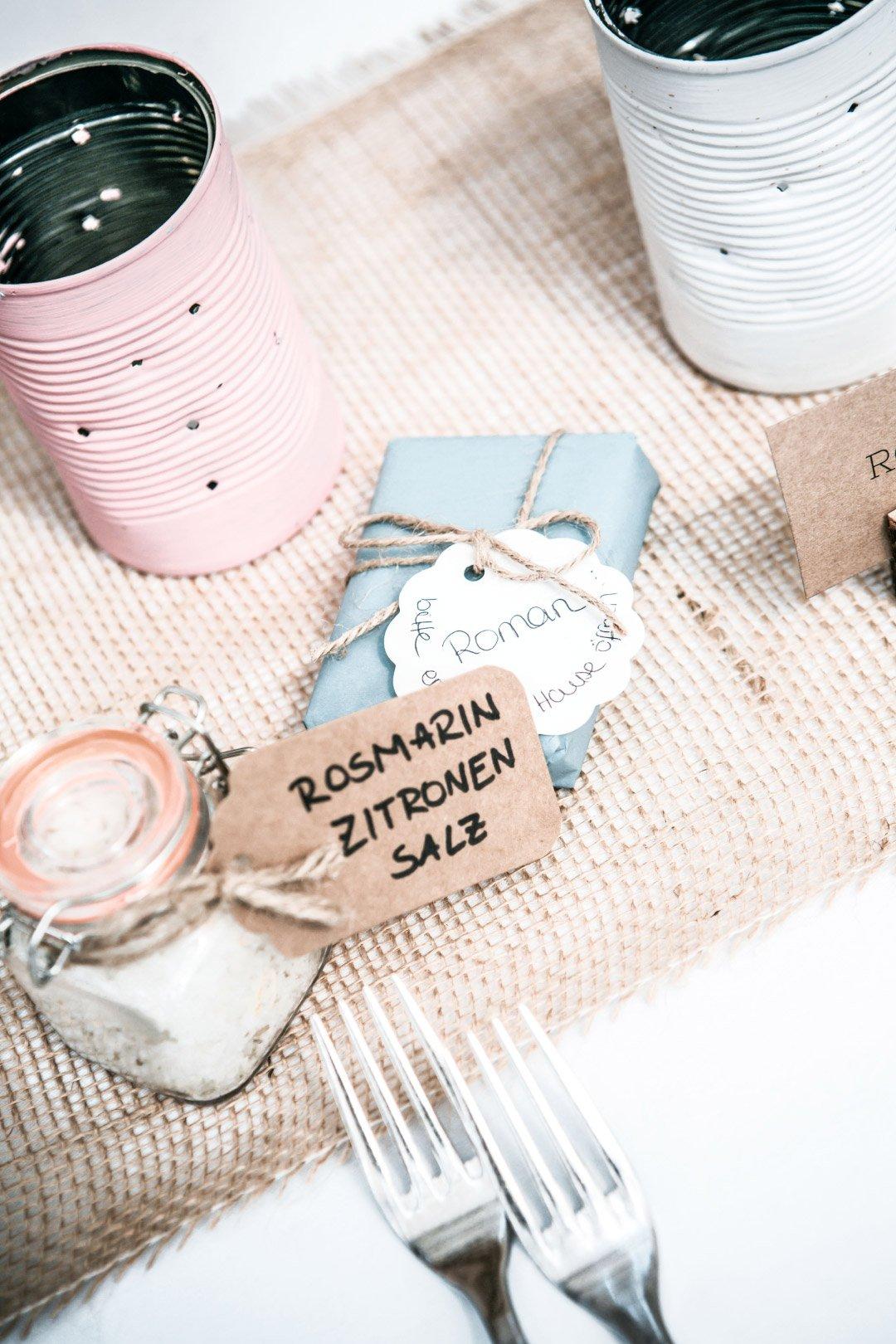 Seife als Gastgeschenk bei der Hochzeit