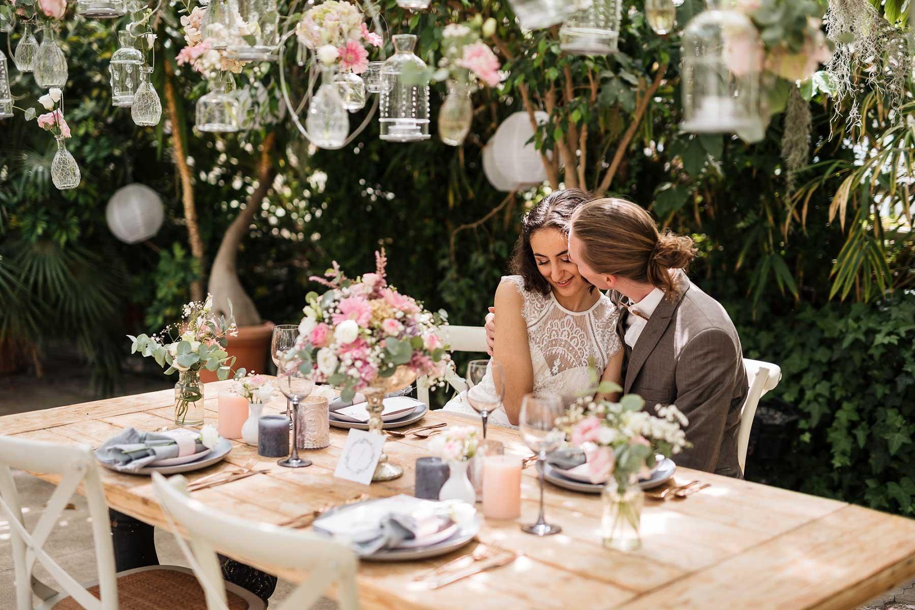 Klassische Hochzeit Im Gewachshaus Ein Traum In Rosa
