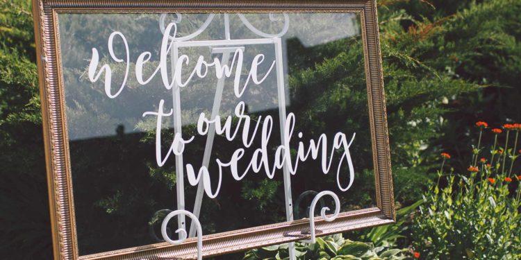 Bilderrahmen für eure Hochzeit: von vintage bis elegant