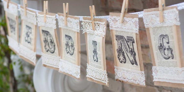 Spitzenband und Spitzenbordüre für euer Hochzeit: Must-Have als DIY-Braut!