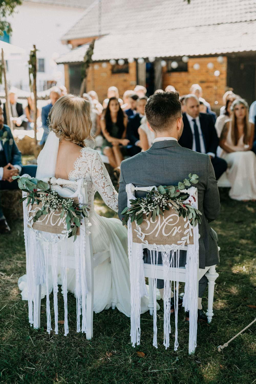 Boho-Hochzeit auf dem Bauernhof von Saskia & Dirk