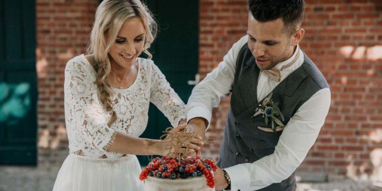 Boho-Hochzeit auf dem Bauernhof von Saskia und Dirk
