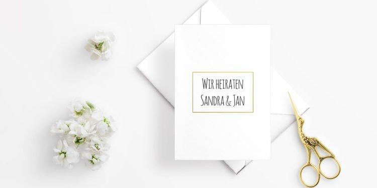 Embossing Technik für die Hochzeit nutzen: Dies benötigt ihr dafür!