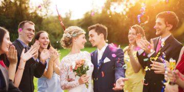 Gäste Gemeinsamkeiten-Spiel bei der Hochzeit