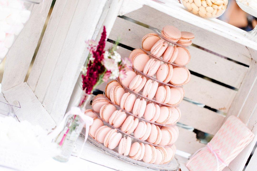 Macarons als Alternative zu Hochzeitstorten