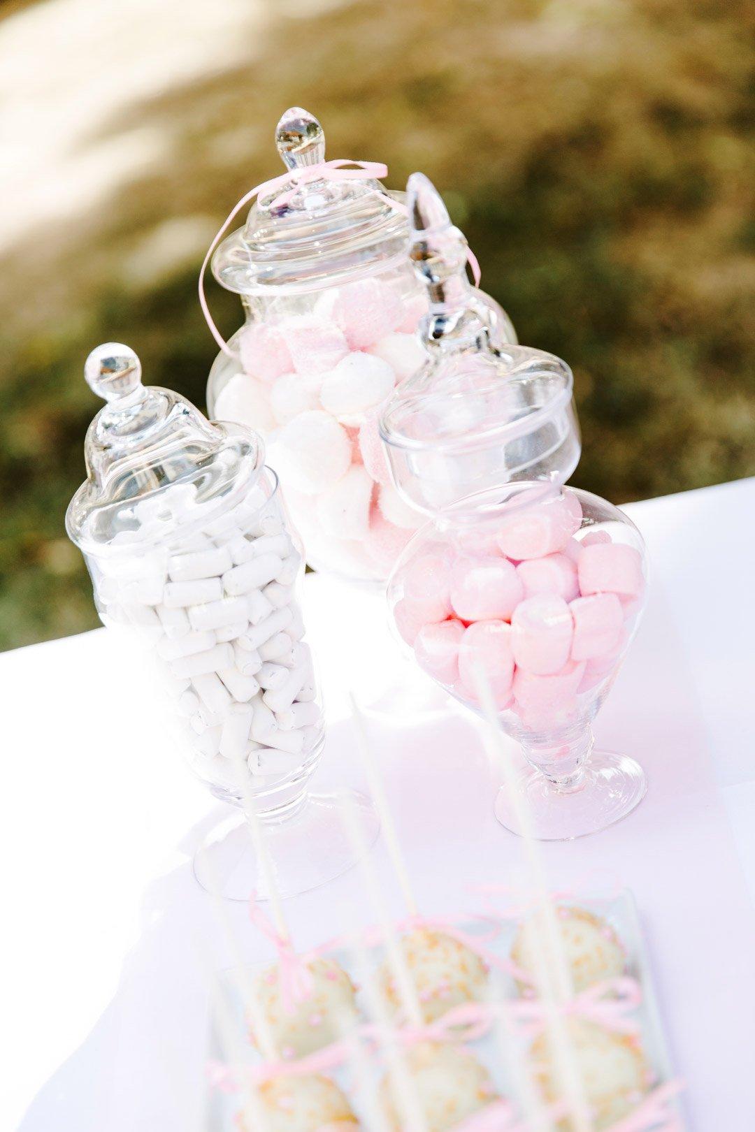 Gläser für die Candybar