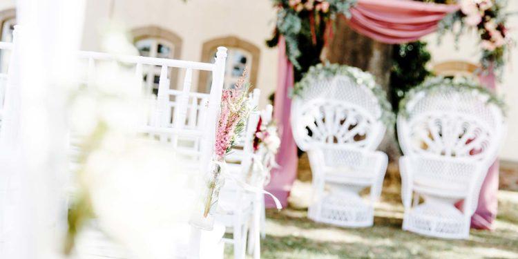 Hochzeit in Rosa: Inspiration für die Deko und mehr