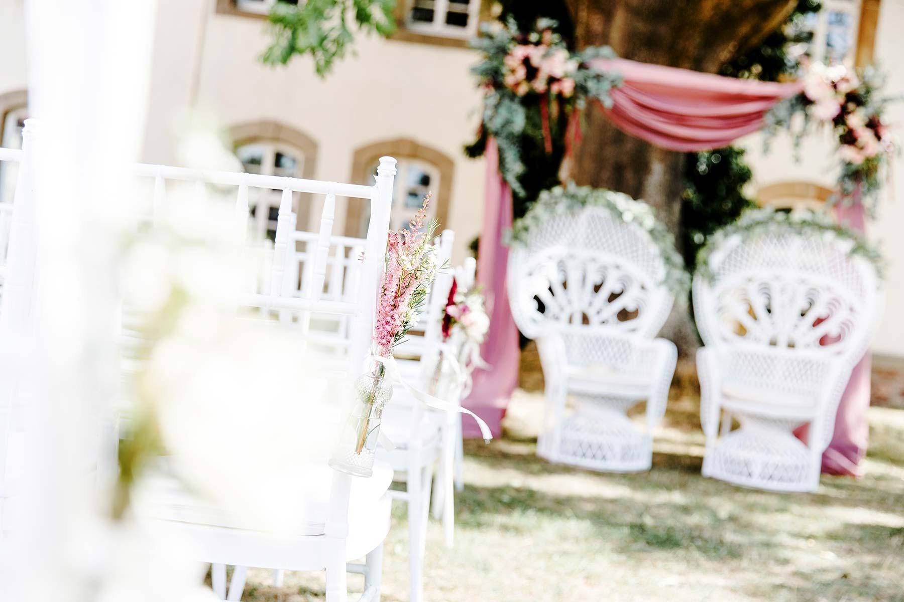 Hochzeit In Rosa Inspiration Fur Die Deko Mehr
